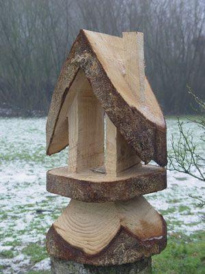 Vogelhaus for Basteltipps gartendeko