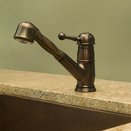 Aberdeen Single Post Faucet With Pull Out Spray 189 95