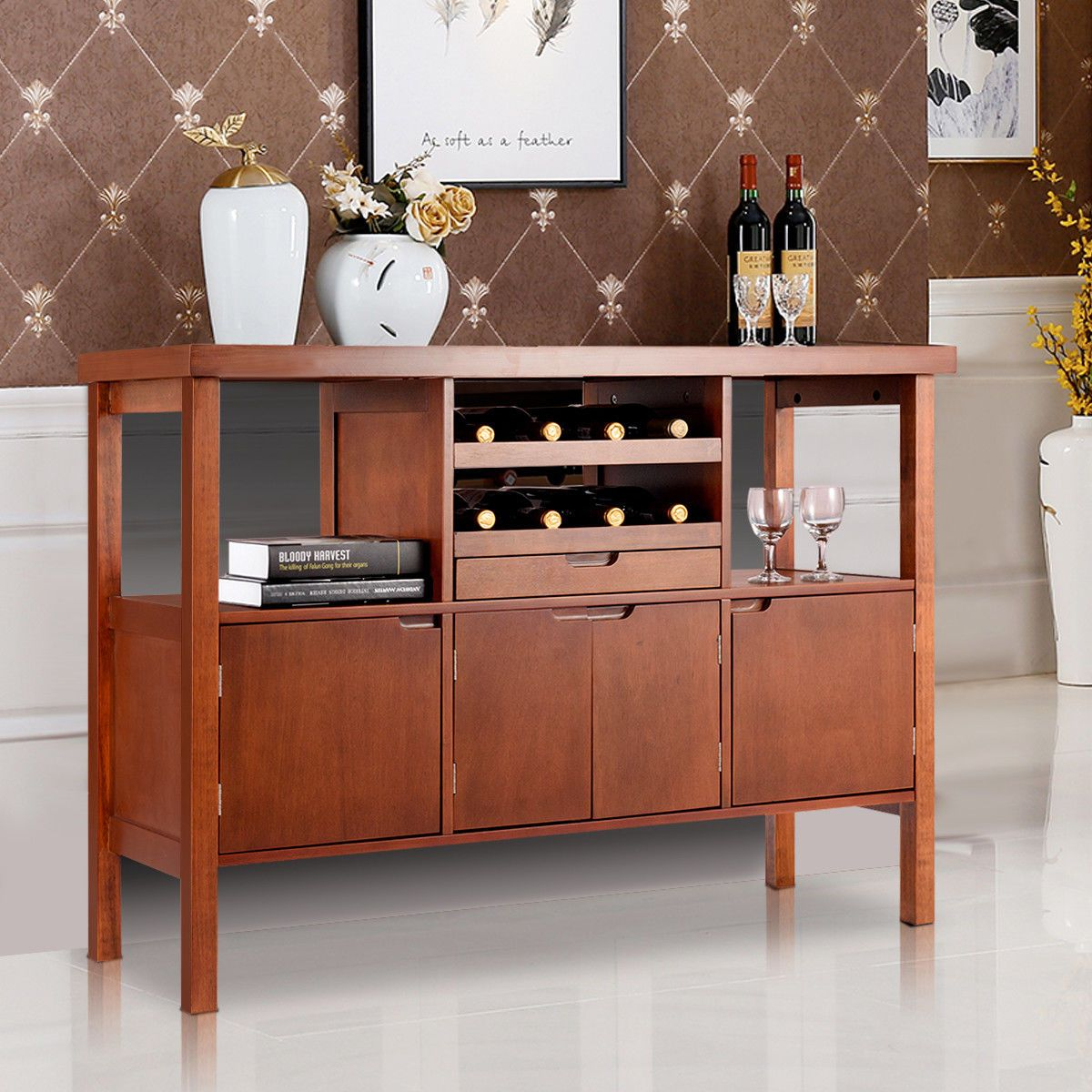 Home With Images Sideboard Storage Buffet Server Table Dining Storage
