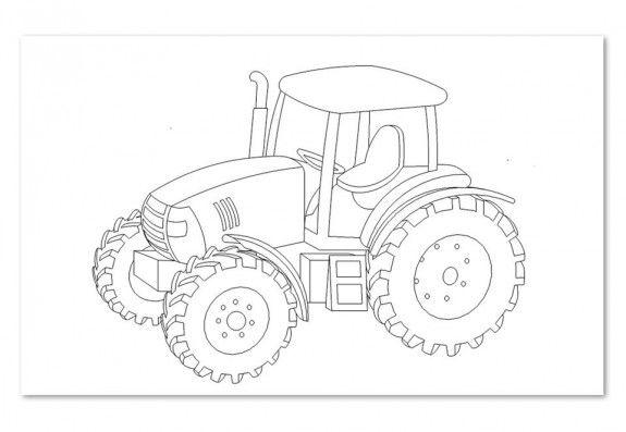 Laubsagevorlage Traktor 1stuck Ausmalbilder Traktor Ausmalbilder Ausmalbilder Zum Ausdrucken