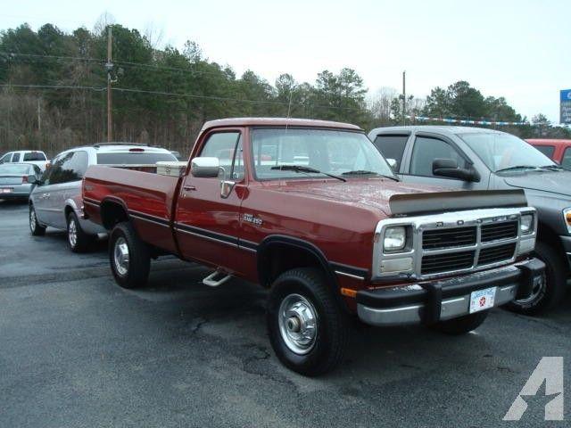 1992 Dodge W250 Dodge Diesel Dodge Trucks Cummins Trucks