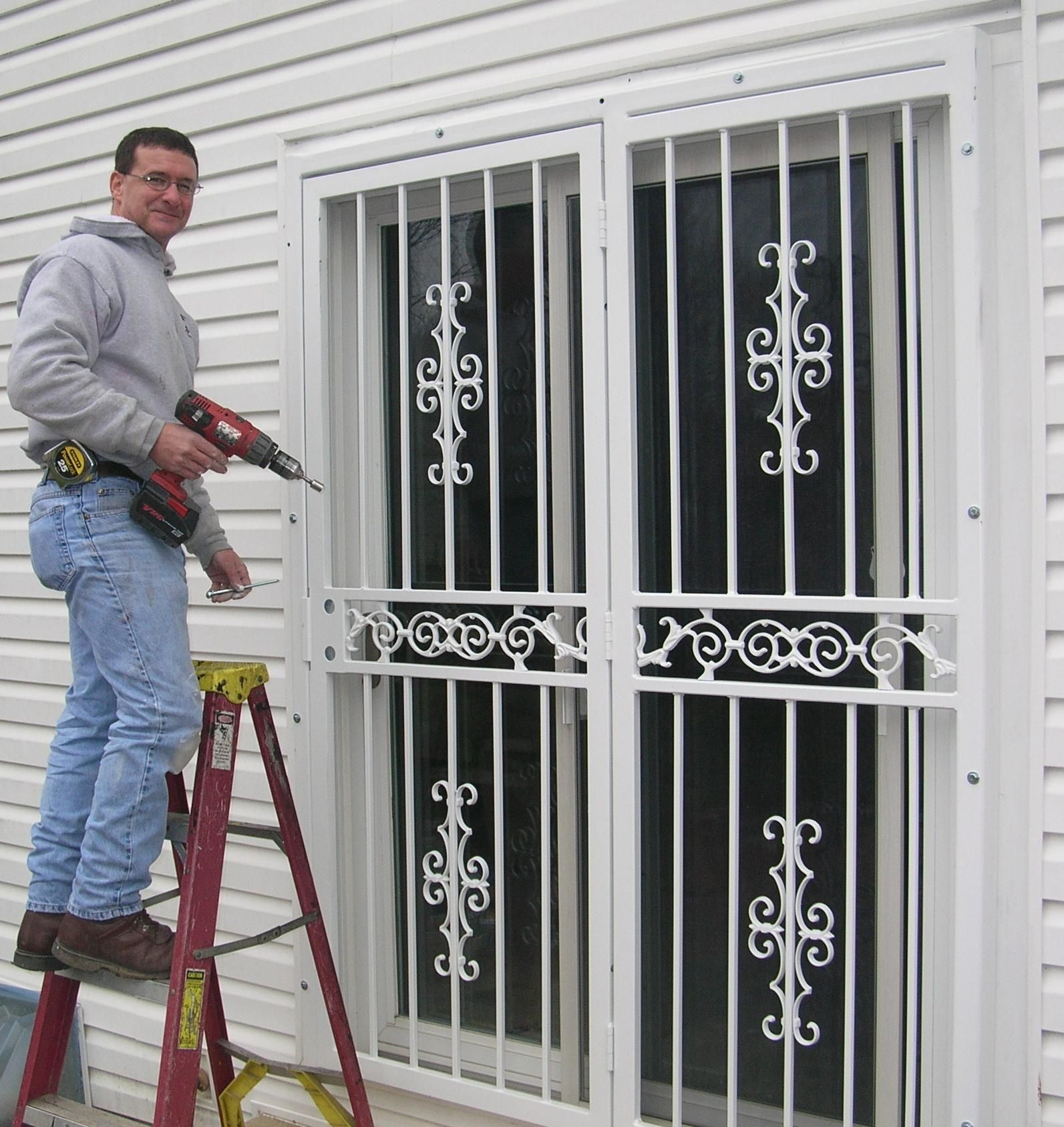 security bars for french patio doors
