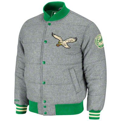 best sneakers 12b29 4e997 Philadelphia Eagles Mitchell & Ness NFL Vintage Quilted ...