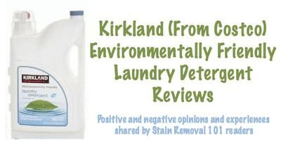 Kirkland Environmentally Friendly Laundry Detergent Reviews