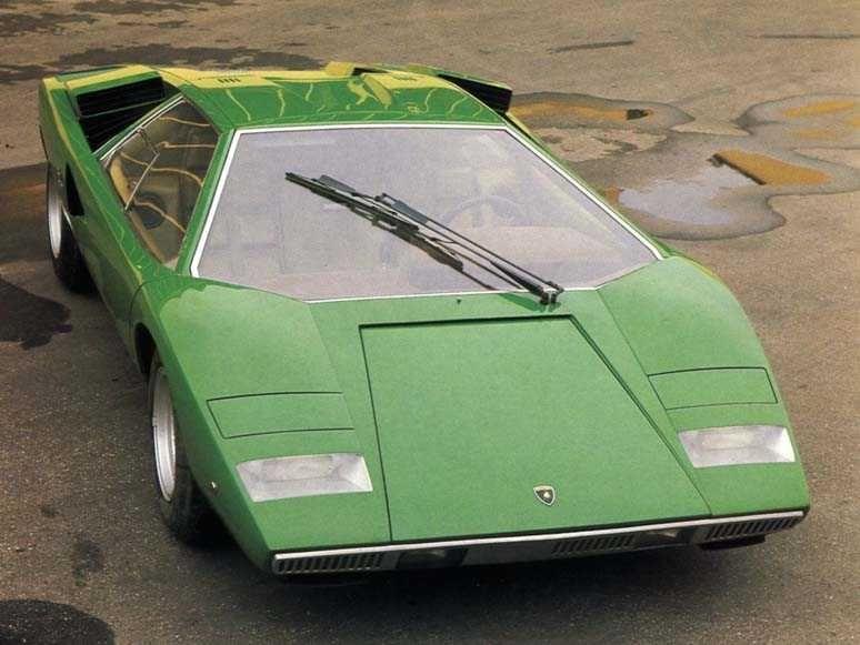 Lamborghini Countach Concept \u0026 LP400
