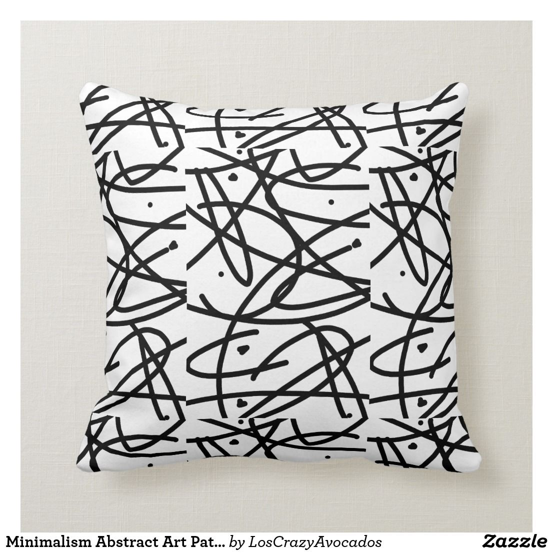 Minimalism Abstract Art Pattern Pillow Cushion Zazzle Com Pattern Art Pillows Pillow Cushion