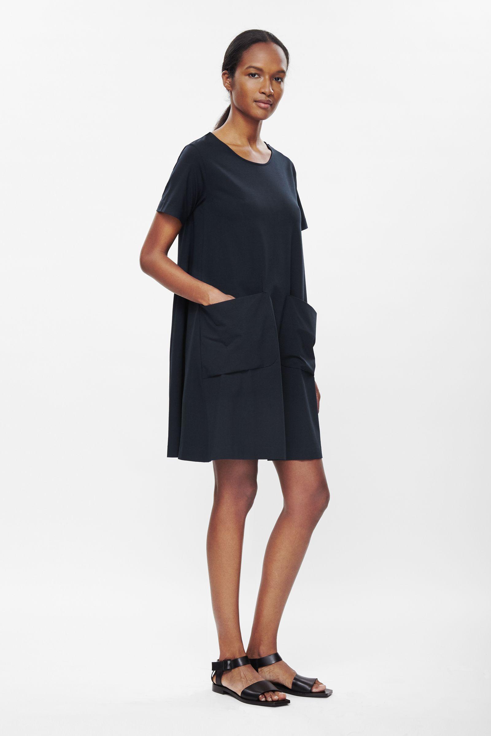 Aline jersey dress dressing pinterest