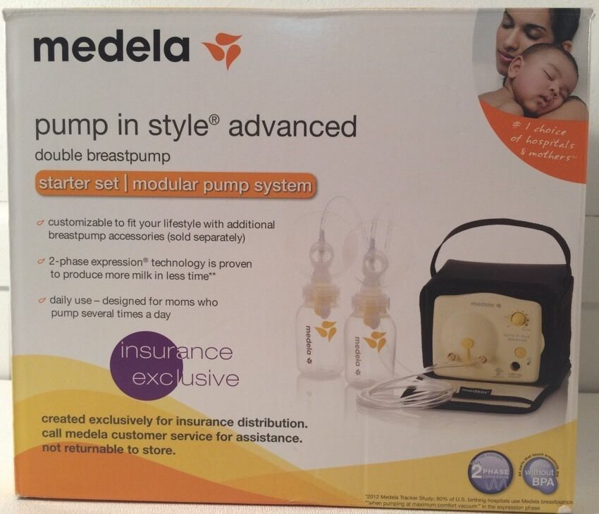 Medela Pump In Style Advanced Double Breastpump Starter Set 57081