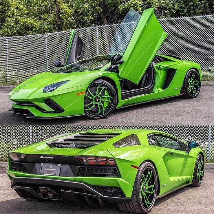 "1,715 Likes, 11 Comments - LAMBO GRAM '63 (@lambogram63) on Instagram: ""What a beatuty. Loving the green with matching wheels! 