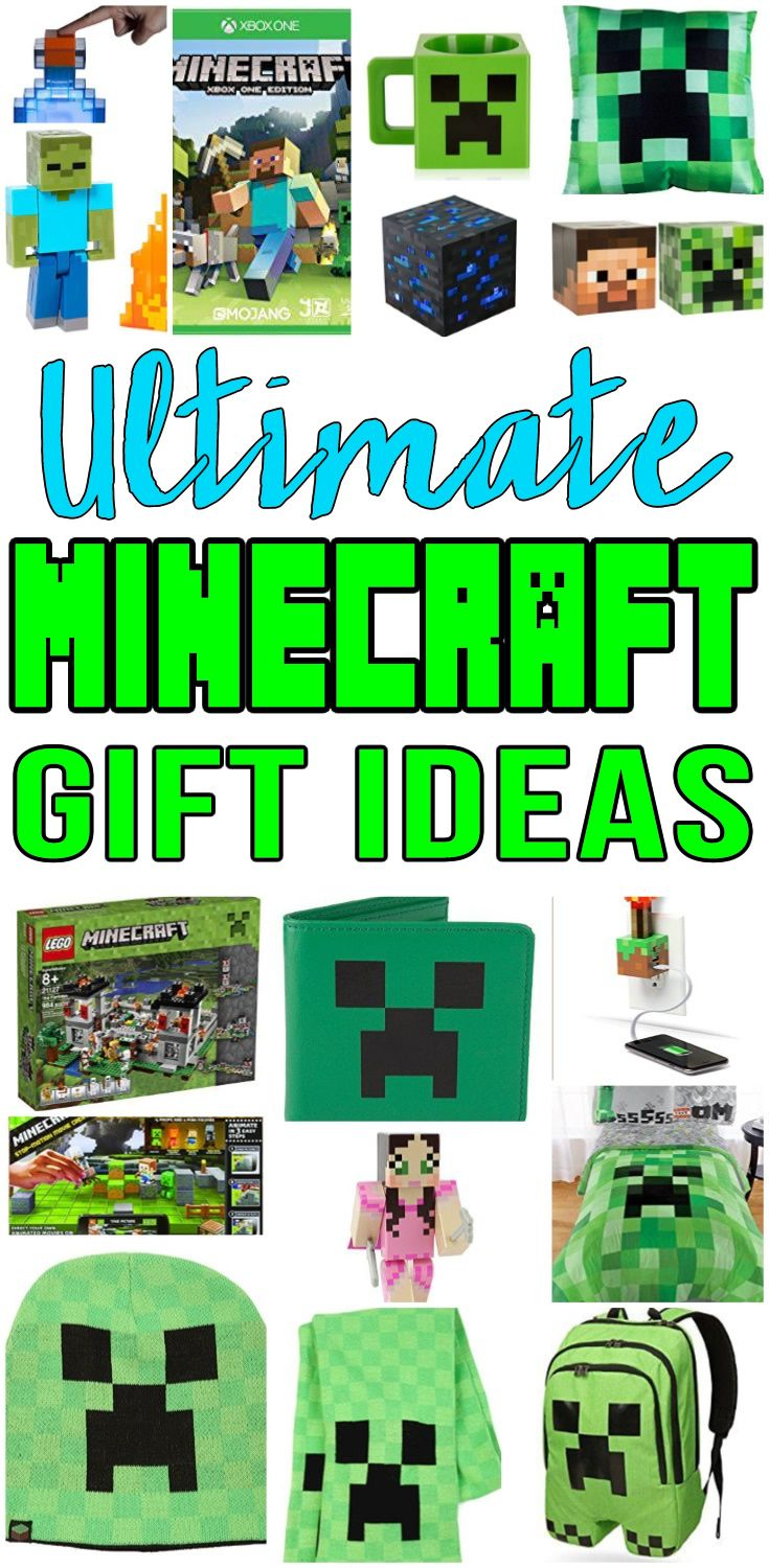 Top Minecraft Gifts Best Gift Ideas For Boys S