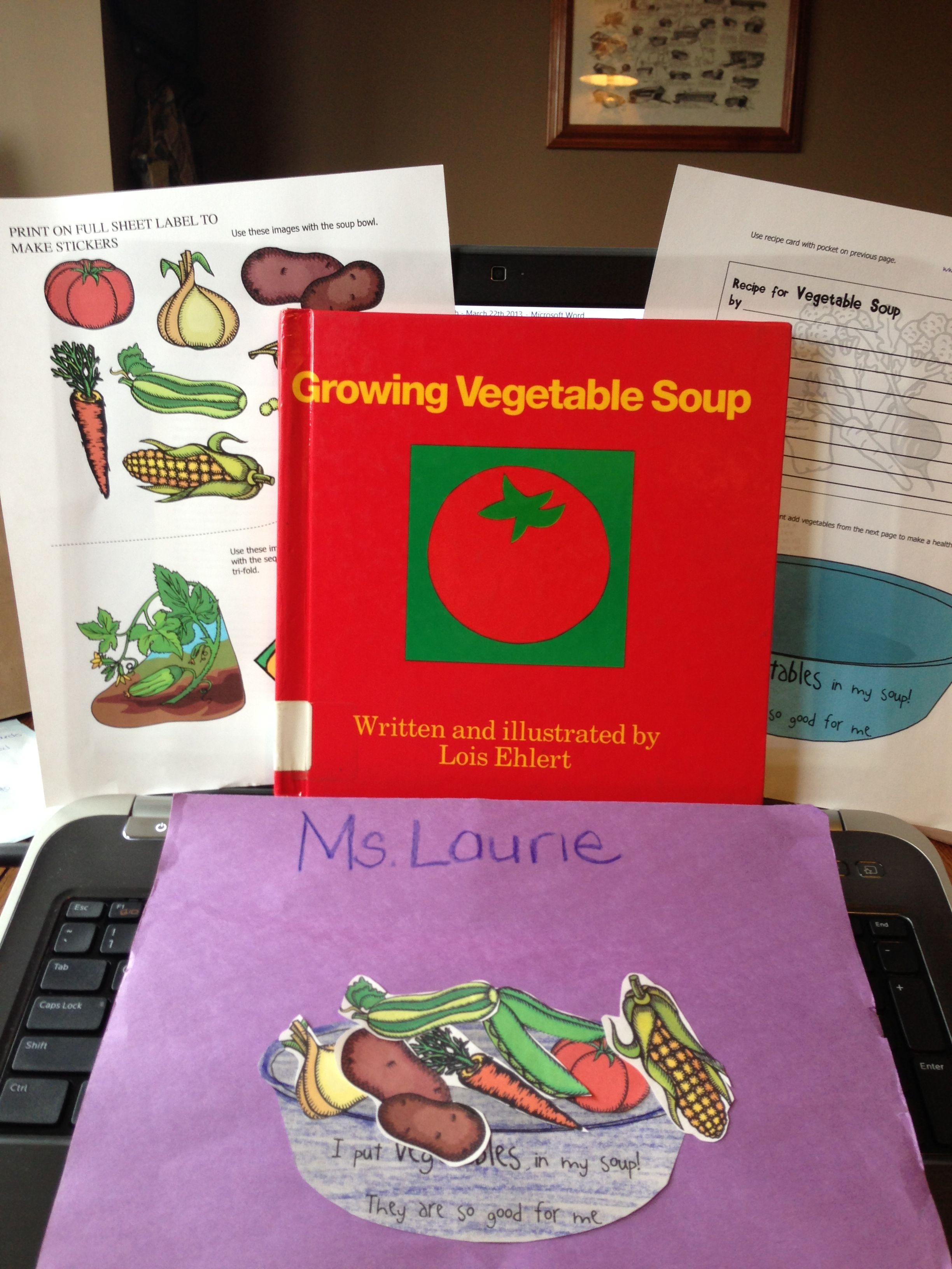 Homeschoolshare Growing Vegetable Soup