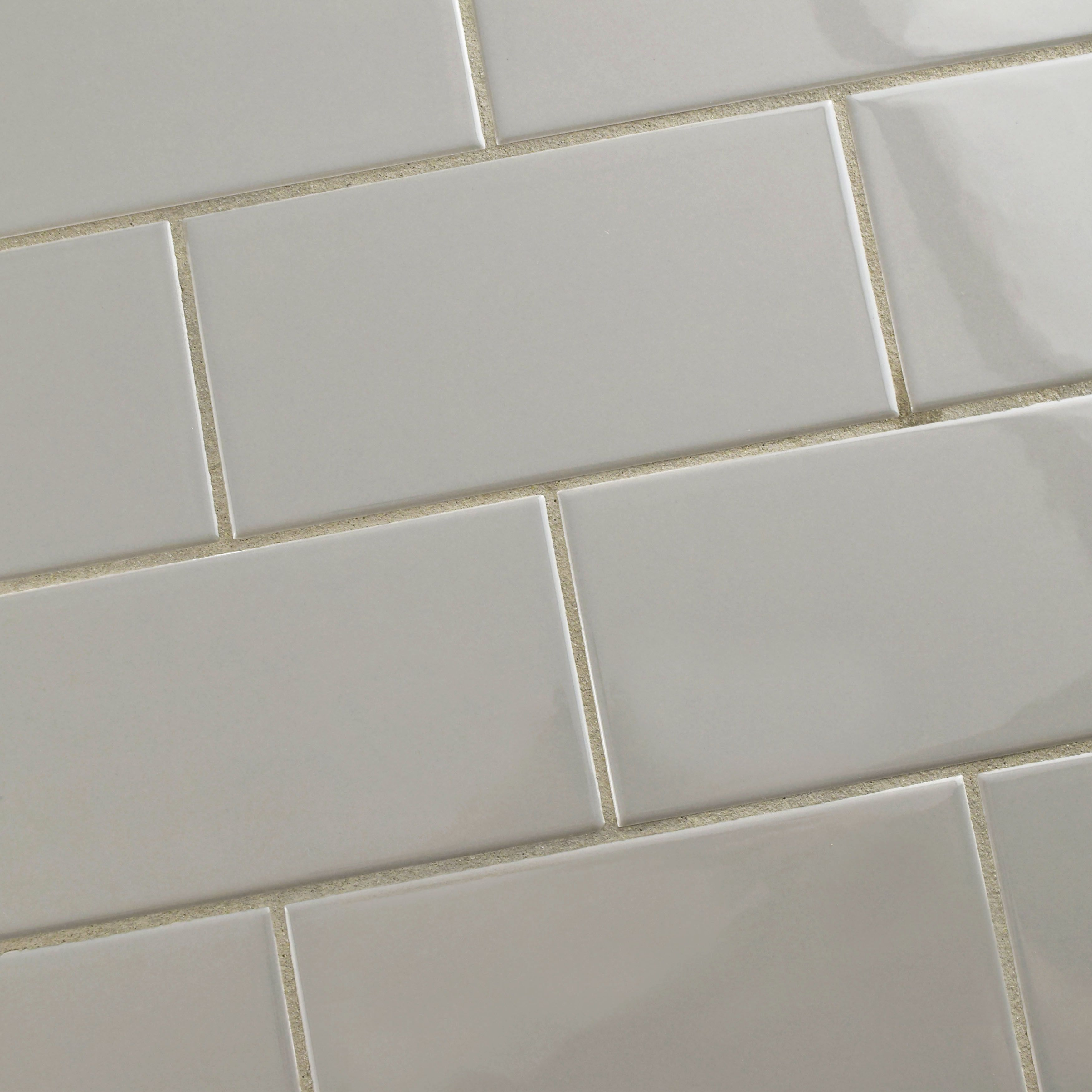Elitetile prospect 3 x 6 ceramic subway tile in gray home elitetile prospect 3 x 6 ceramic subway tile in gray dailygadgetfo Choice Image
