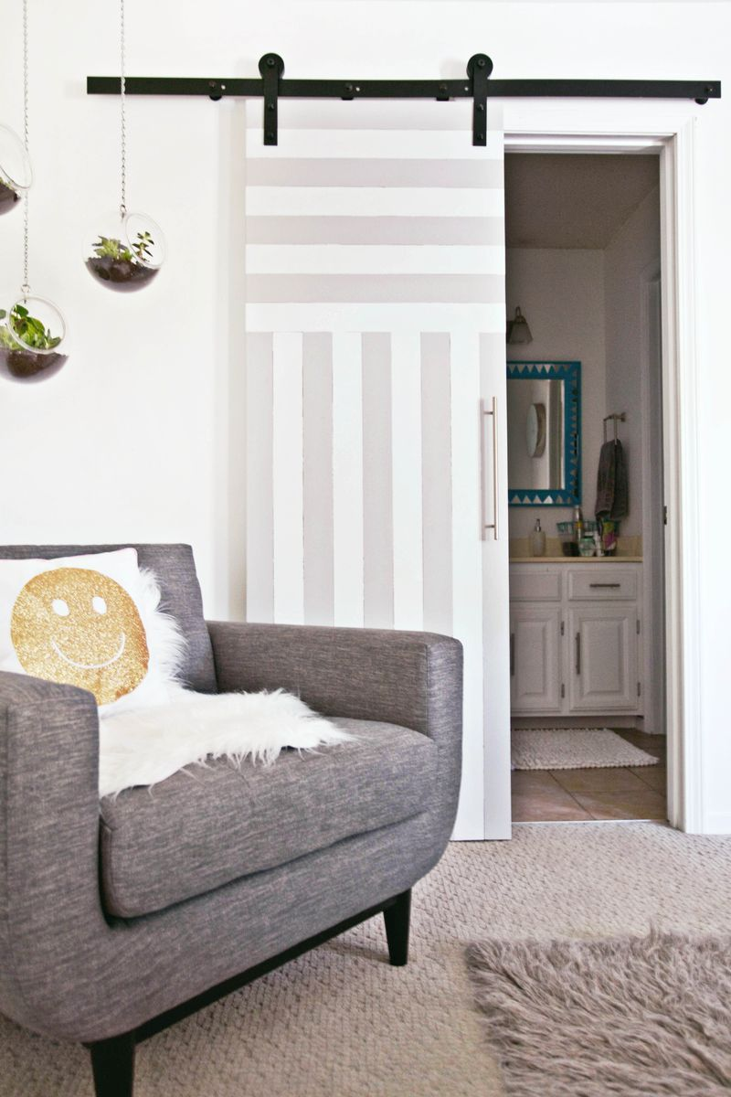 Sliding door solution for small spaces a beautiful mess diy