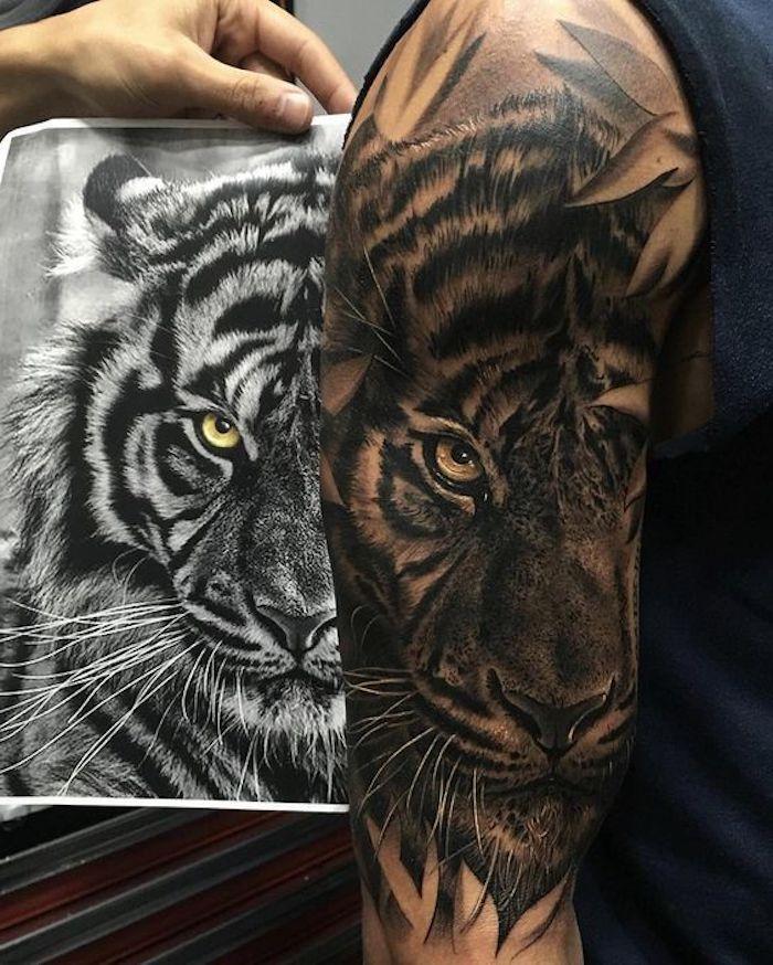 Photo of ▷ 1001 idées de tatouage de tigre ultra cool pour l'inspiration