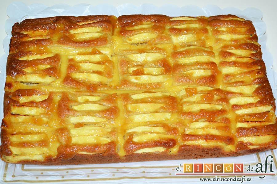 Bizcocho De Manzana Y Crema Pastelera Receta Bizcochos De Manzana Crema Pastelera Pastelera