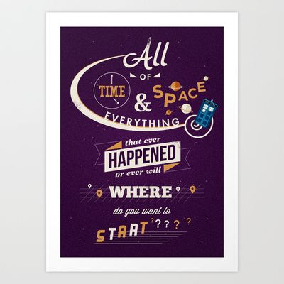 Doctor WHO TARDIS, TARDIS art print, Doctor Who art print ...  |Doctor Who Art Poo