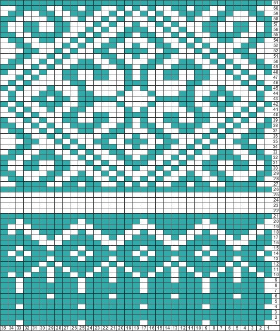 Tricksy Knitter Charts: fair isle pattern thingy by kirsten ...