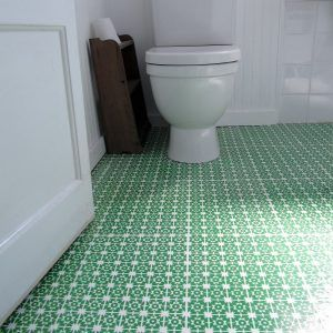 Merveilleux Linoleum Tile Bathroom Floor