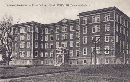 Le grand s minaire des p res eudistes charlesbourg bourg royal photos anciennes de la ville - Piscine municipale bourg royal toulon ...