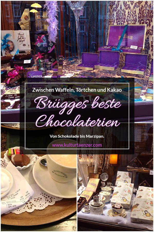 Brügges beste Chocolaterien - Zwischen Waffeln, Törtchen und Kakao #traveltogreece