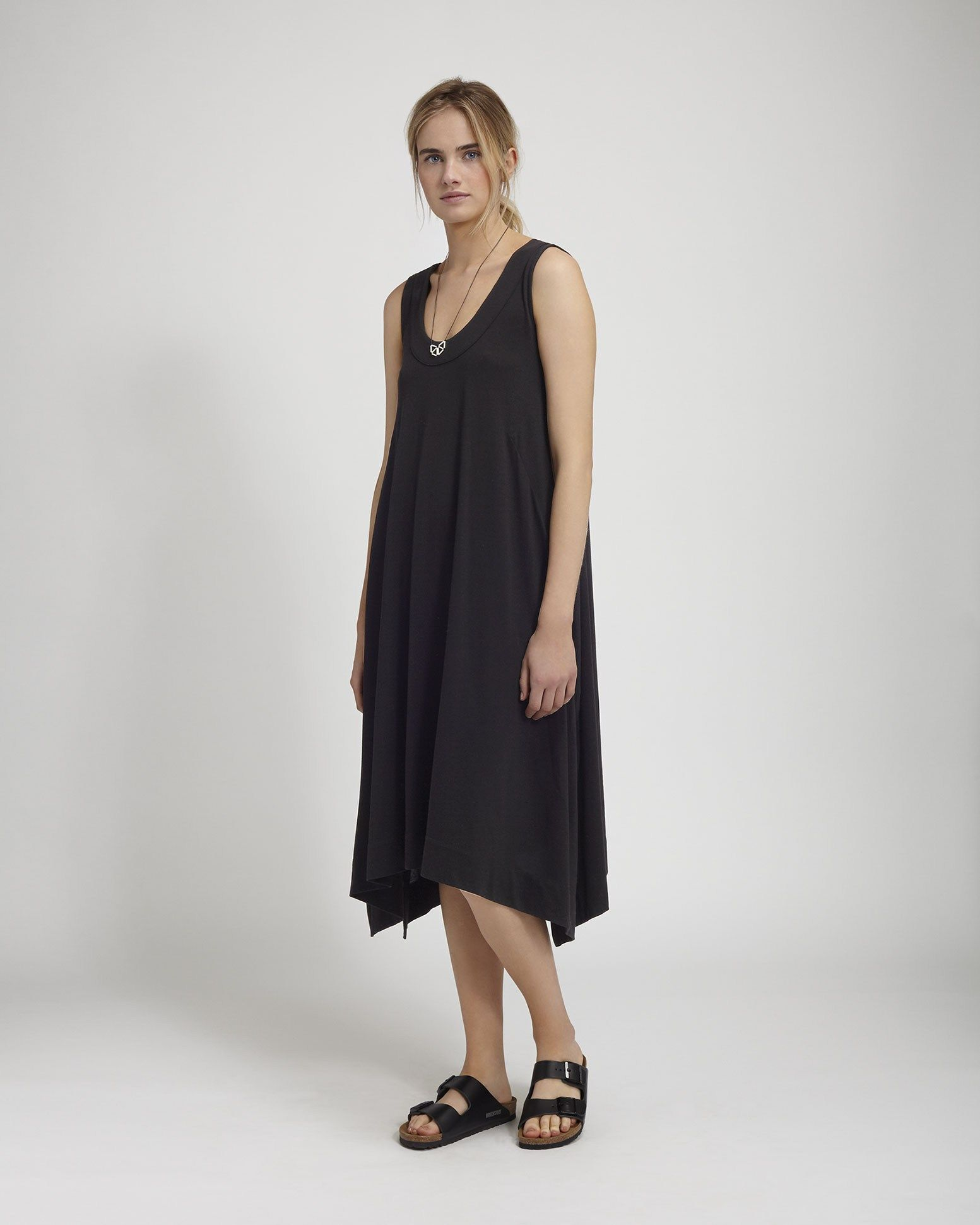 deb370e8af2 Women s Black lyocell Cotton Verene Dress