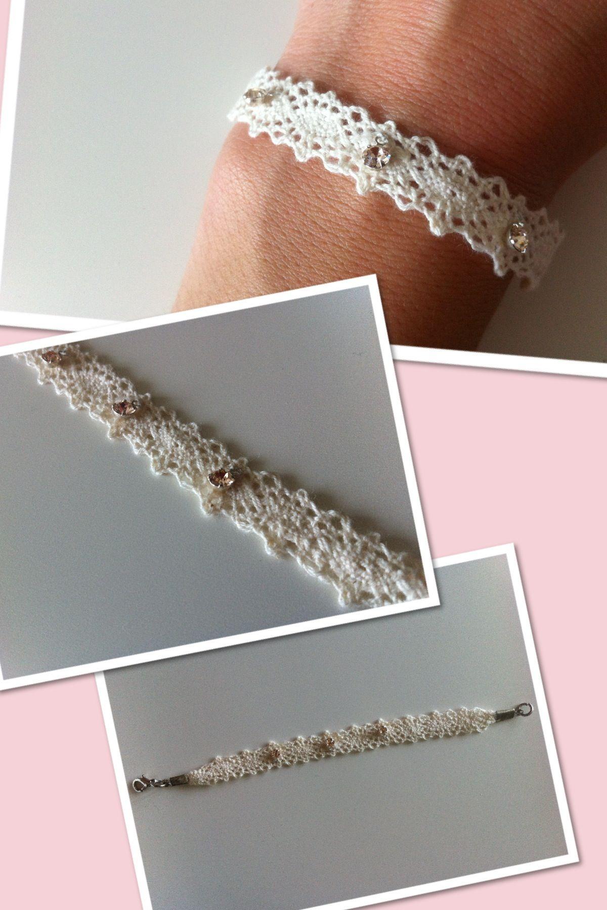 Handmade jewellery from bavaria lace beading ideas pinterest