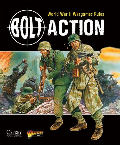 Bolt Action 2nd Edition Rulebook   Wargames   Bolt action