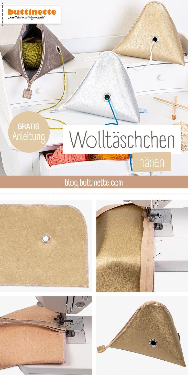 Photo of Gratis-Anleitung: Wolletasche nähen