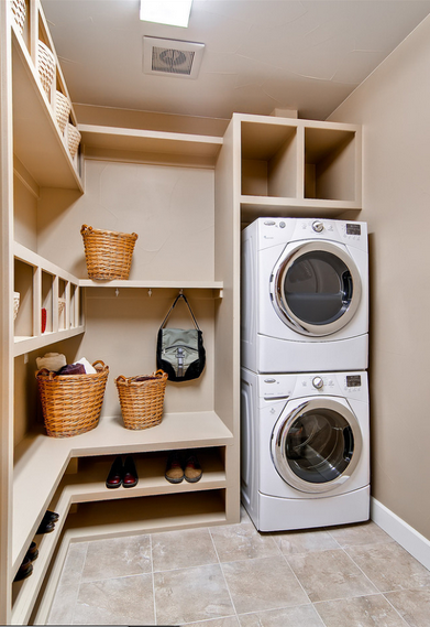 Image From Pinterest Small Closet Room Laundry Room Design Laundry In Bathroom