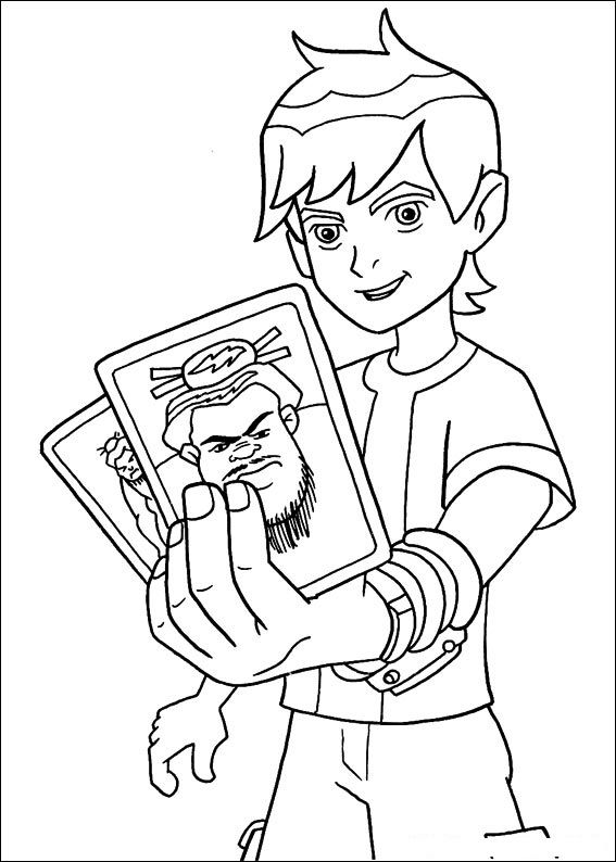 Print Ben 10 Coloring Pages For Free And Printable Book On ForKids