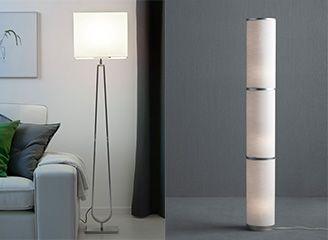 Ikea Lampen Staand : Klabb en vidja staande lamp lampen