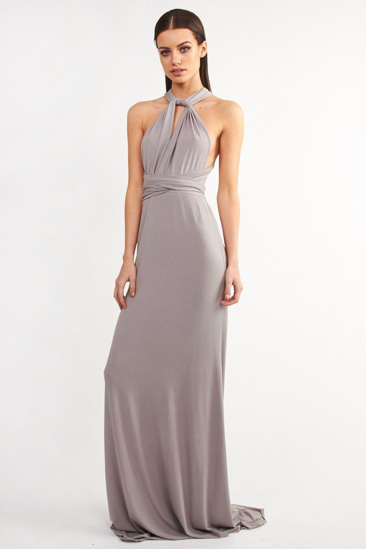 45df8418ad TFNC Multi Way Grey Maxi Dress