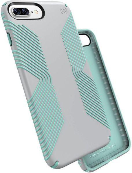 68de6c9d5e Speck 88754-6249 iPhone 7/6S/6 Plus Presidio Grip Case Dolphin Grey/Aloe  Green