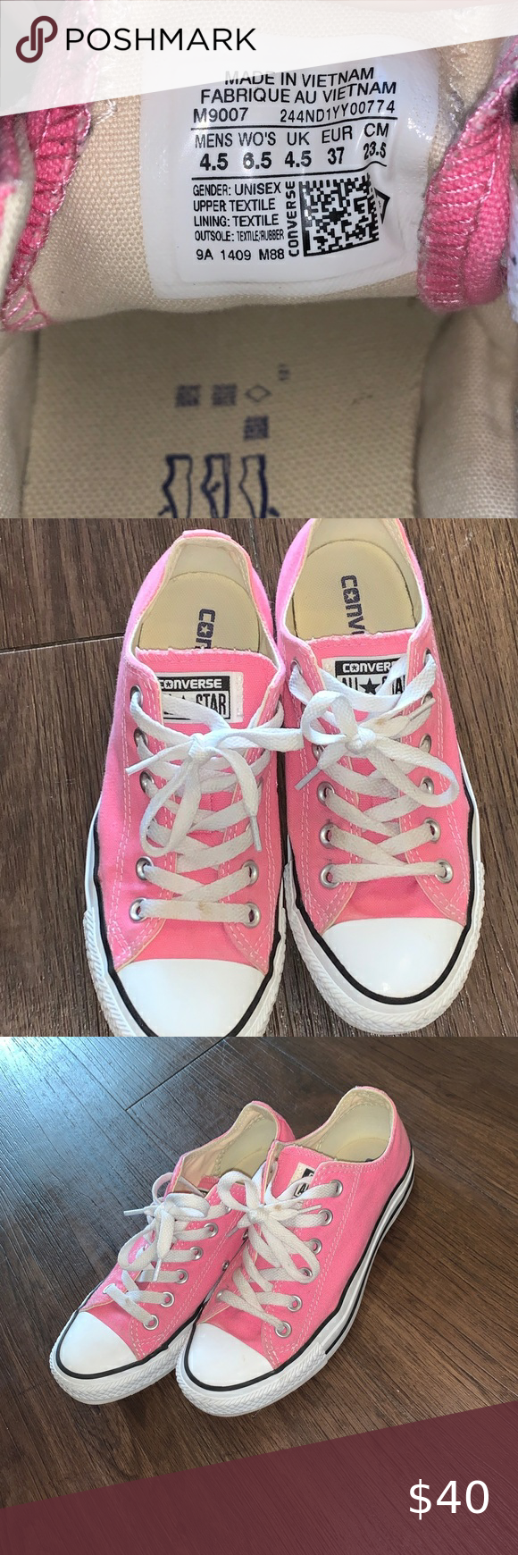Hot Pink Converse in 2020 | Pink
