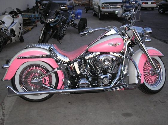 Pink Harley Davidson: Girly Harley Davidson Background - Google Search