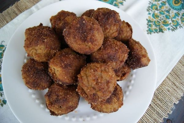 Amazeballs Paleo Pumpkin Spice Poppers, from Rubies and Radishes