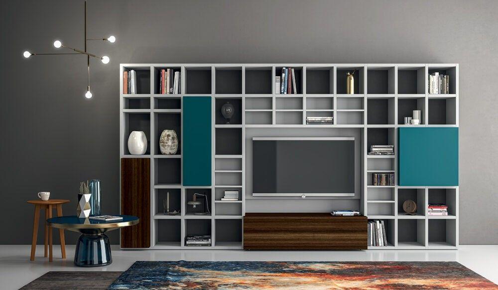 Dall Agnese Wohnwand Speed Up Dall Agnese In 2020 Hausbibliotheken Zimmer Bucherregal Design Einrichtungsideen Fur Kleine Raume