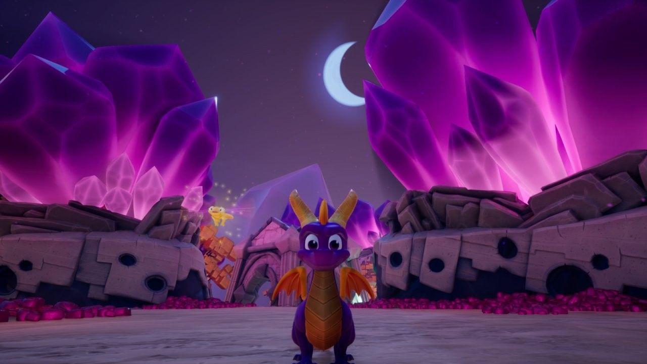 Screenshot By Me Spyro The Dragon Novelty Lamp Spyro And Cynder