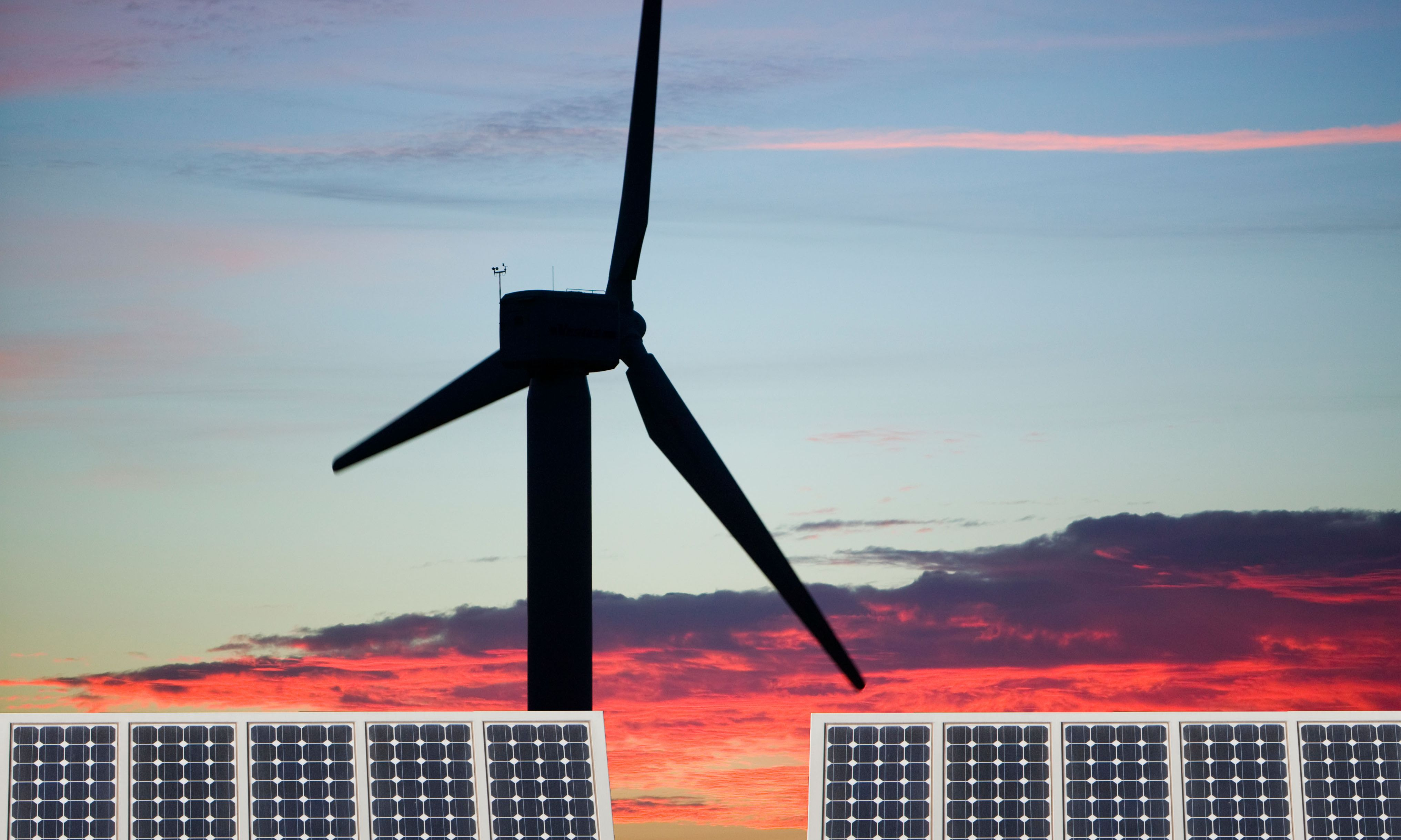 Environmental and economic impact of British energy policy