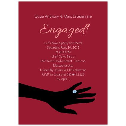 Engagement Invitations Printable Engagement Party Invitation
