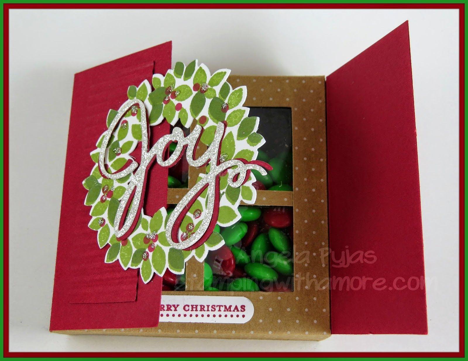 Stampingwithamore Christmas Bags And Boxes