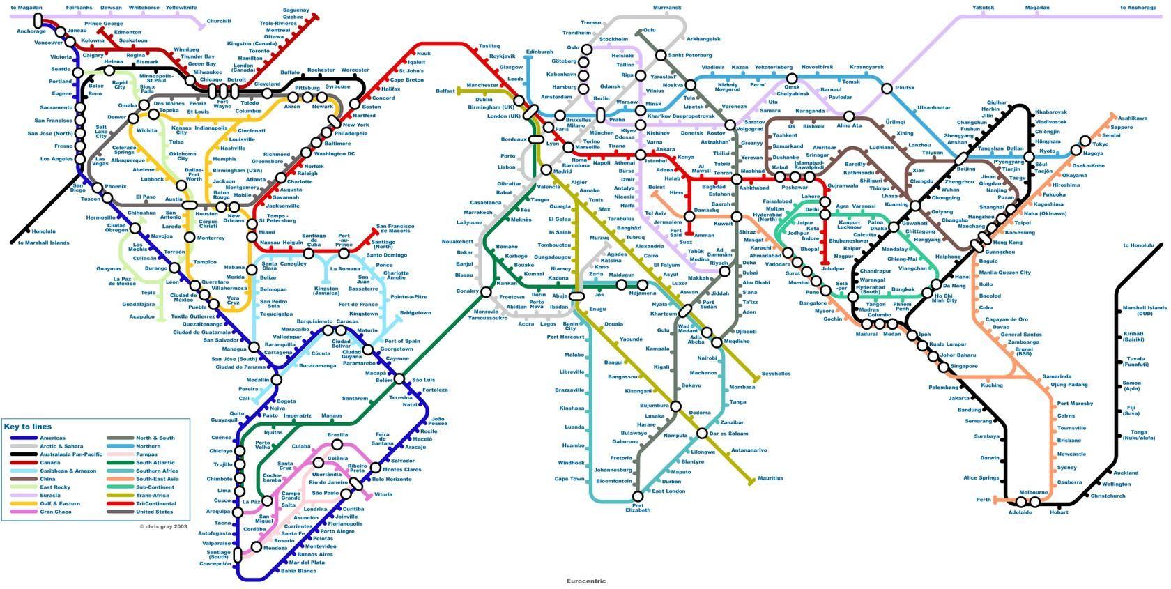 World metro map maps pinterest explore london underground world maps and more gumiabroncs Choice Image