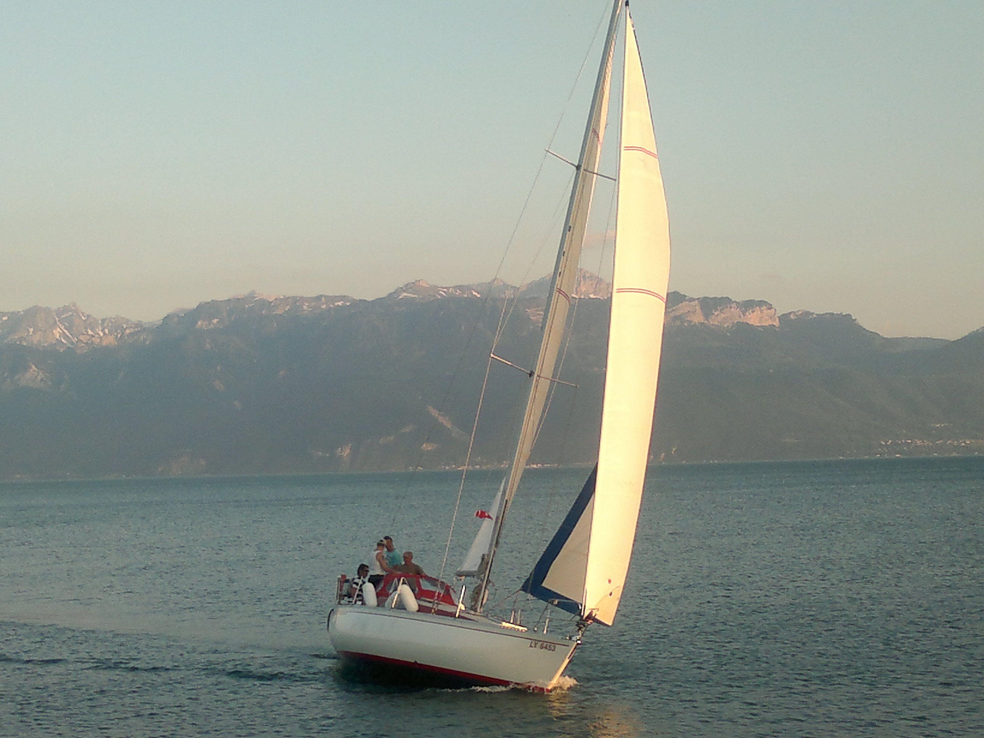 Lac Léman Switzerland May 2012