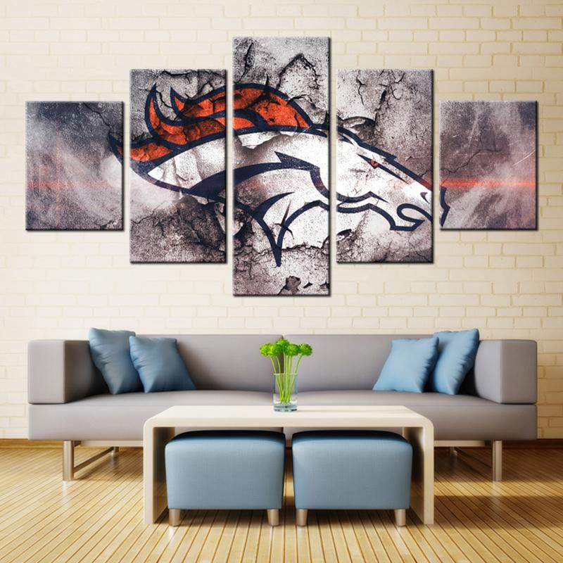 ideas for as also well broncos decor wall room living denver colors