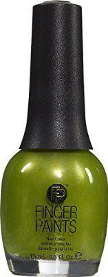 FingerPaints Nail Color Guggen I'm Lime