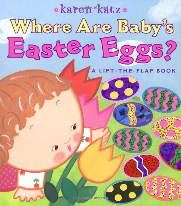 Where Are Babys Easter Eggs?: A Lift-the-Flap Book