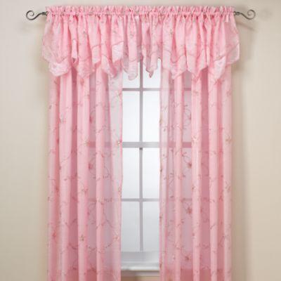Laya Pink Window Panels Bedbathandbeyond
