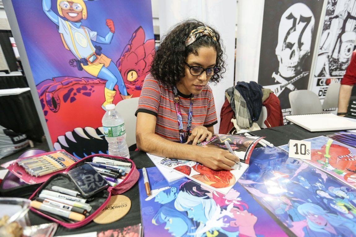 3 Latina Comic Book Artists