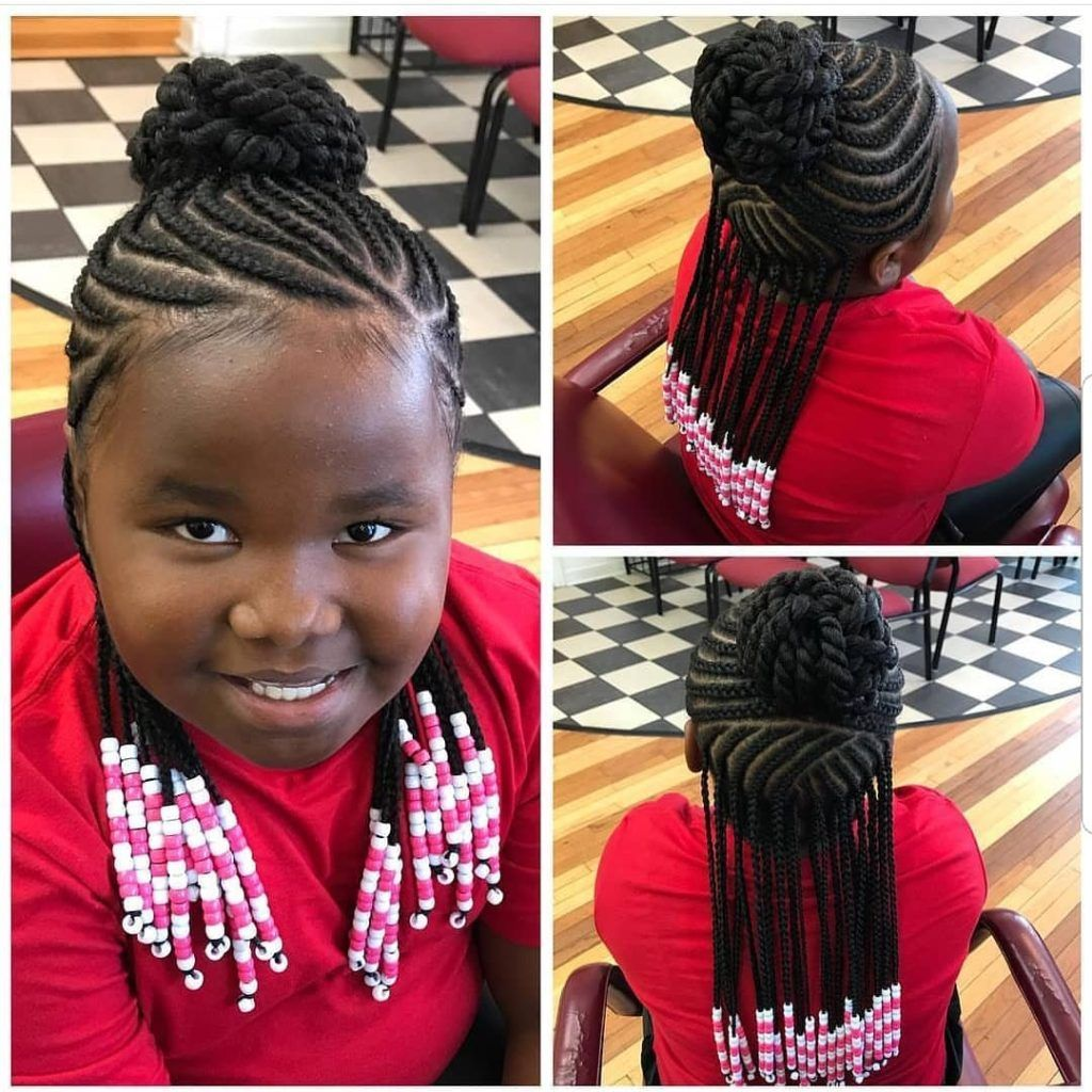 Braided Hairstyles For Kids 43 Hairstyles For Black Girls Click042 Kids Hairstyles Kids Braided Hairstyles Braided Prom Hair
