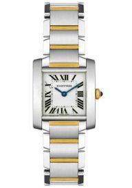 Womens Tank Francaise 18K and Stainless Steel  Cartier Watch